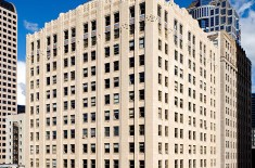 A photo of the Joseph Vance Building in downtown Seattle.