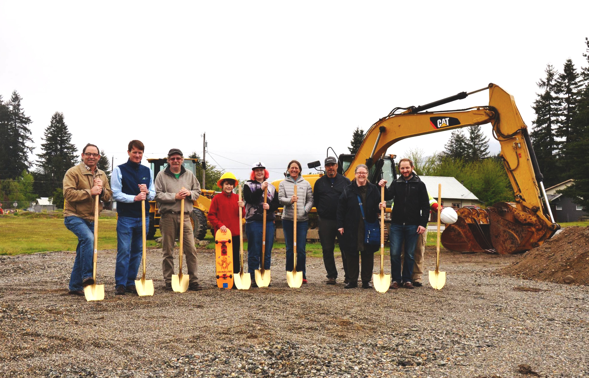 Ground Breaking Ceremony Processed
